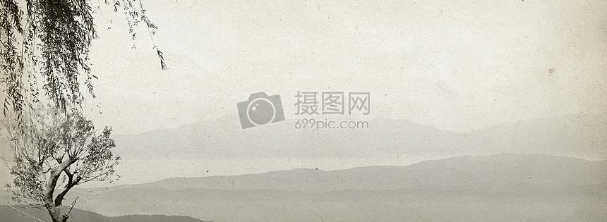 水墨banner背景摄影图片免费下载_背景/素材图库大全