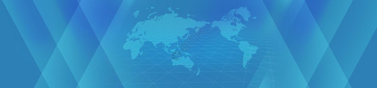 科技商务banner背景图片