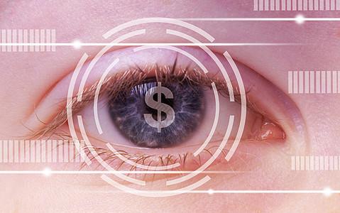 用眼睛看穿互联时代图片
