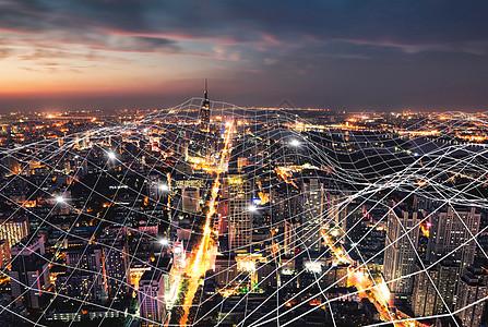 都市夜景图片