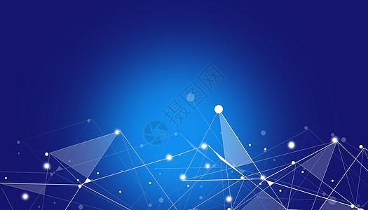 智能科技炫酷蓝色背景图片