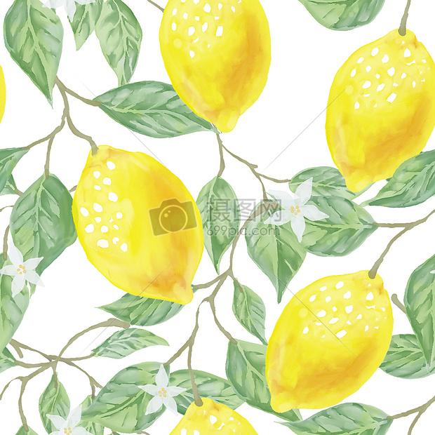 唯美图片 背景素材 柠檬背景jpg
