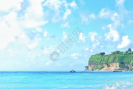 美丽的巴西小岛风光图片