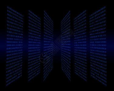 蓝色网络科技图片