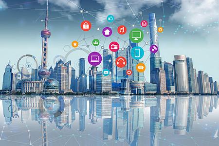 经济上海图片