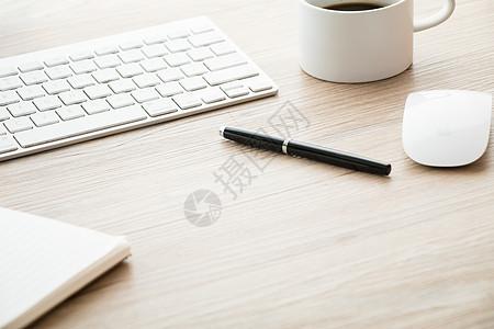 商务办公桌文具创意组合桌面图片