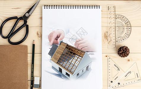 建筑艺术绘图设计图片