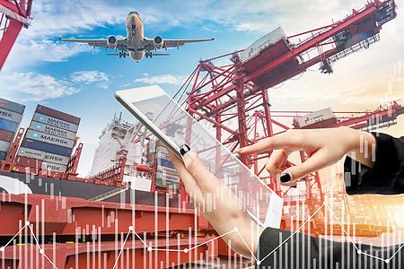 出口贸易金融数据图片