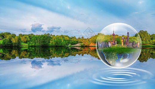 绿色生态环保背景图片