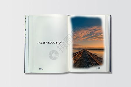 书本里的故事图片