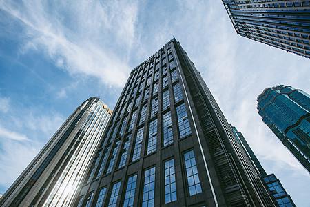 市中心高楼大厦图片