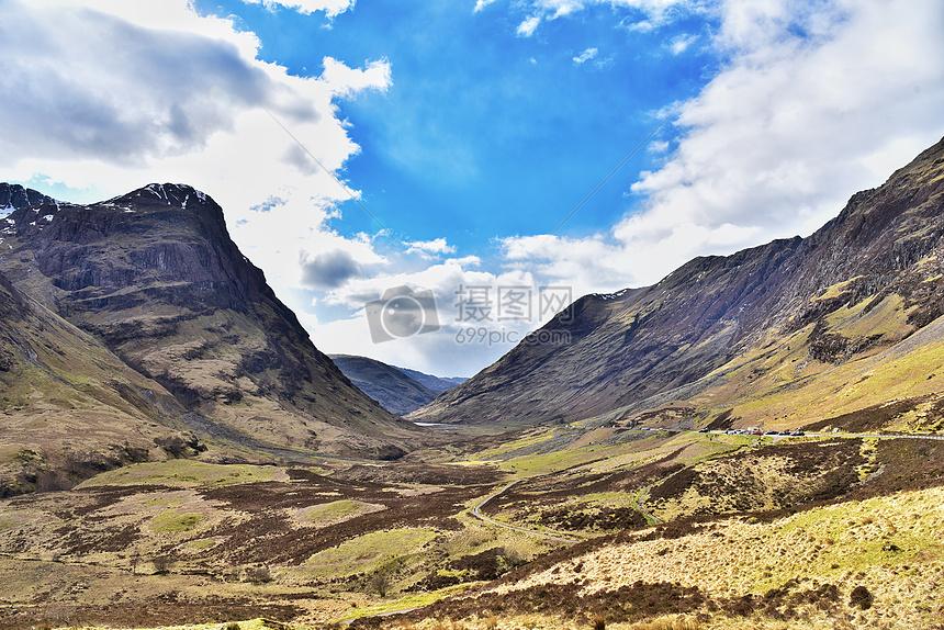 英国苏格兰高地摄影图片免费下载_自然/风景图库大全