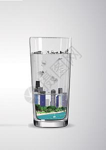 保护水资源图片