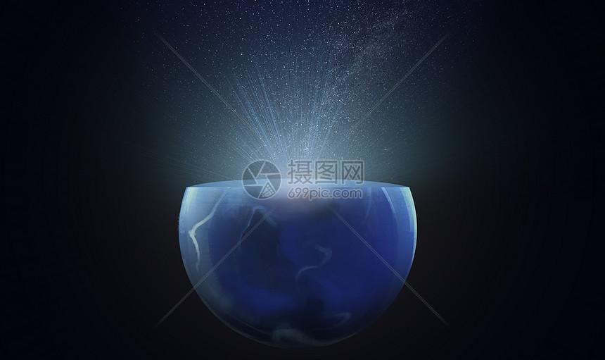 互联网星空科技创意图片