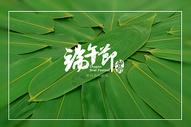 绿色竹叶背景图片