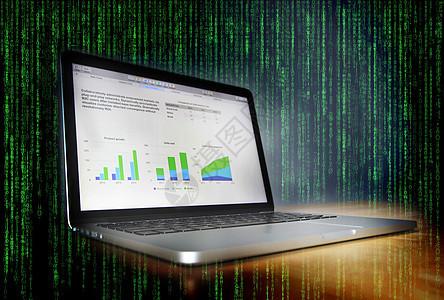 电脑数据图片