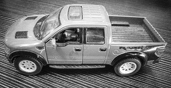 黑白车模图片