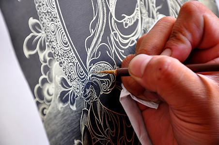 热贡唐卡艺术图片