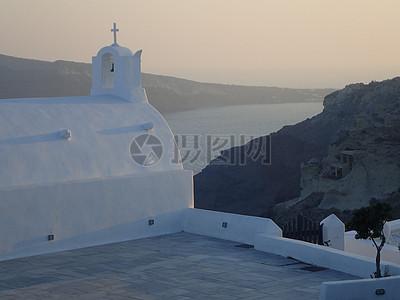 希腊海岸建筑图片