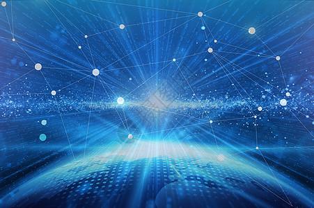 宇宙科技传递大数据图片