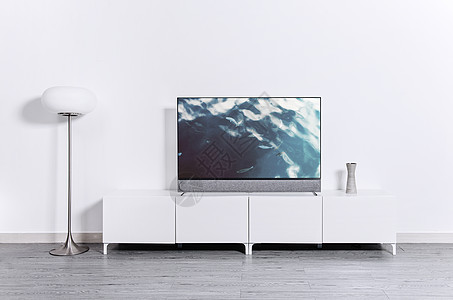 极简主义性冷淡电视墙图片