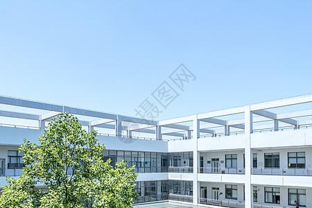 大学校园教学楼教室图片