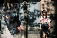 上海初夏街拍图片