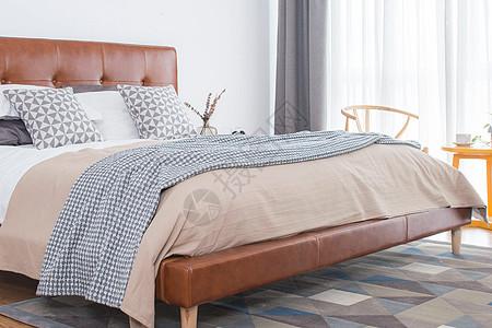 简约北欧小户型卧室图片