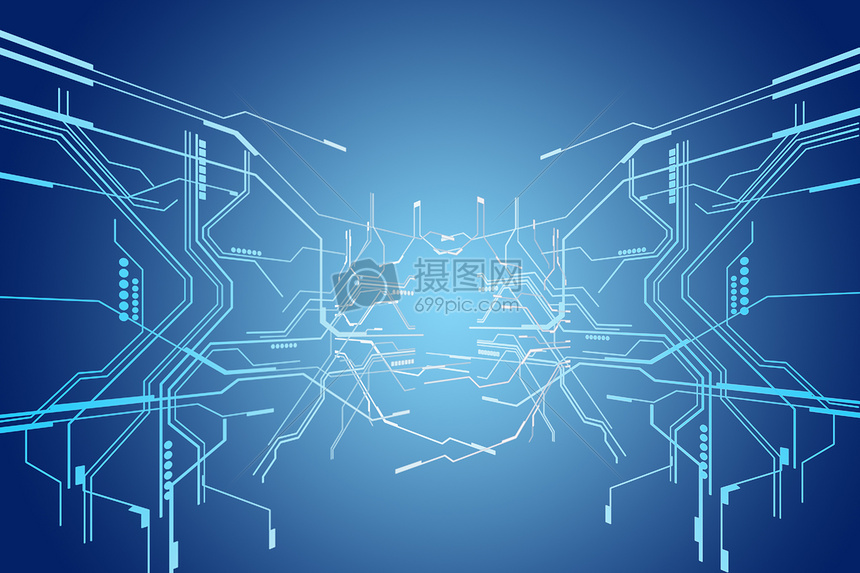 标签: 科技科学网络背景蓝色电路智能存储创意
