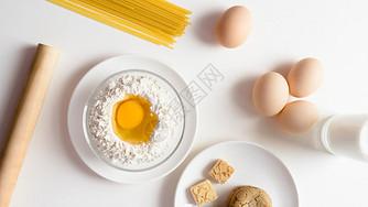 厨房的食材图片