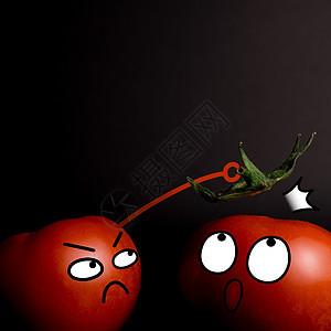 番茄创意摄影图片