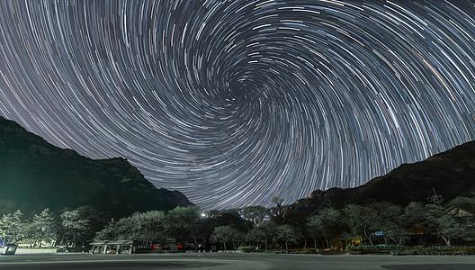 星星旋转繁星点点图片