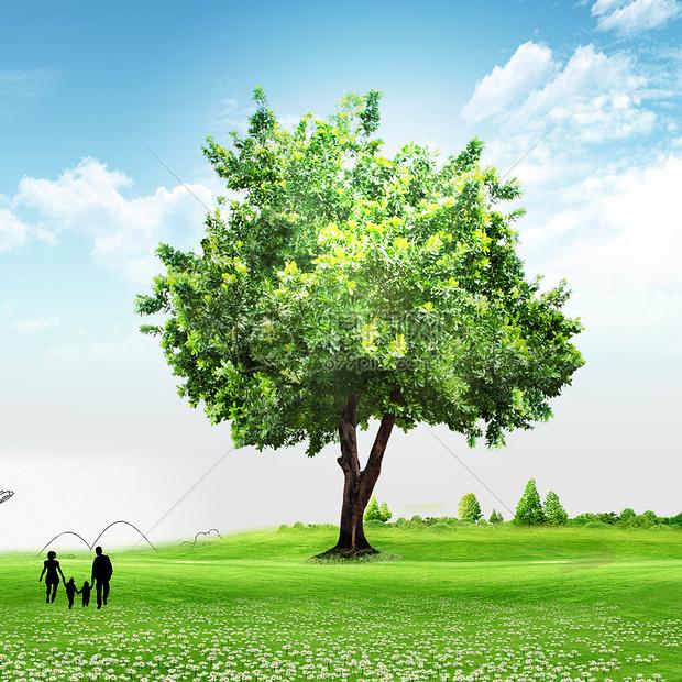 绿色清新环保背景/素材摄影图片免费下载_自然/风景