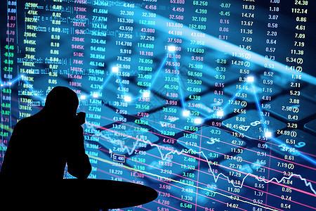 商业股市之中的困惑图片