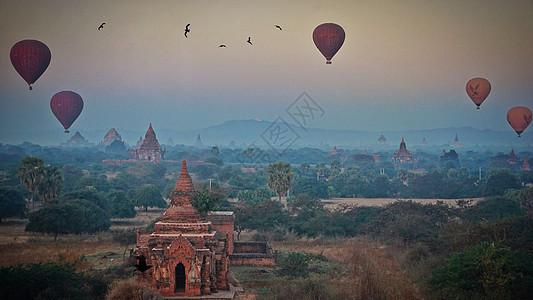 缅甸蒲甘图片