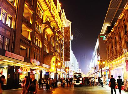 绚丽的城市夜景图片