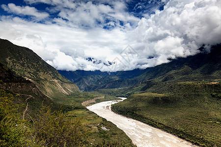 雅鲁藏布江大峡谷图片