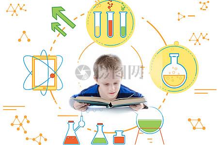 爱学习的孩子图片