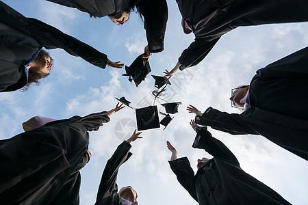 毕业季毕业照图片