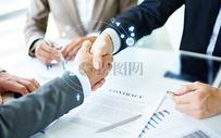 商务握手图片
