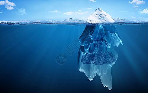 冰山一角下的财富图片