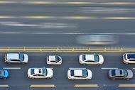 交通道路汽车图片