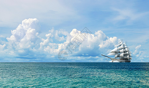 乘帆远航图片