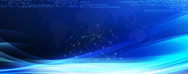 大数据蓝色科技图片