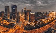 武汉城市风光楚河汉街图片