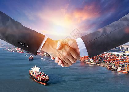 海上贸易图片