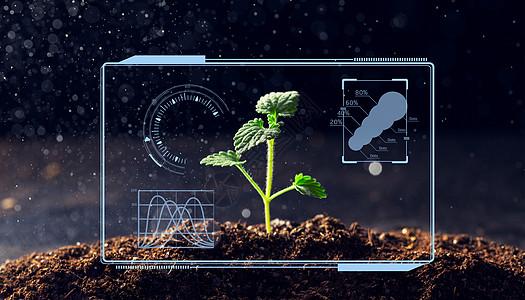 农业科学智能科研大数据图片