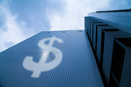 商业大楼展现房产经济图片