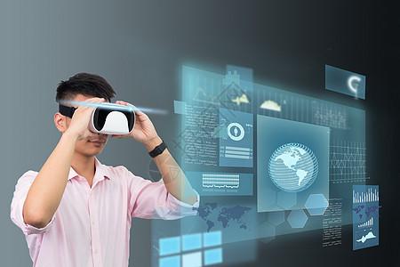 虚拟现实办公图片