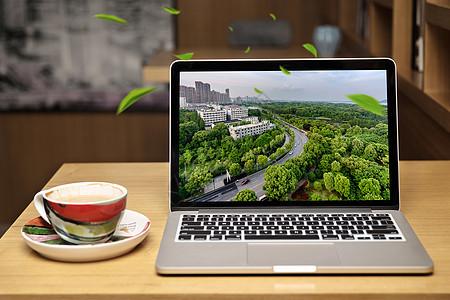 商务科技环保背景素材图片